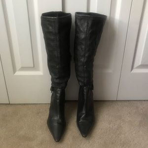 BCBG over the knee heeled boots